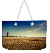 Silo In Wheat Weekender Tote Bag