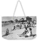 Silver Beach On Cape Cod Weekender Tote Bag