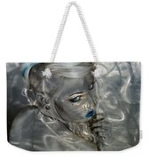 Silver Flight Weekender Tote Bag