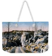 Silver Gate Road Yellowstone Np Weekender Tote Bag