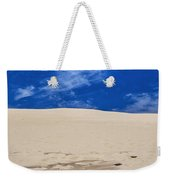 Silver Lake Dune With Dead Tree Branch And Cirrus Clouds Weekender Tote Bag