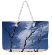 Silver Lake Dune With Dead Trees And Cirrus Clouds Weekender Tote Bag