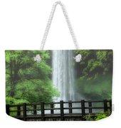 Silver Lake Falls Weekender Tote Bag
