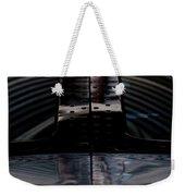 Silver Weekender Tote Bag
