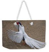 Silver Pheasant Weekender Tote Bag