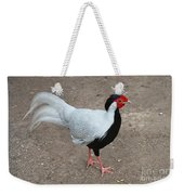 Silver Pheasant Male Weekender Tote Bag