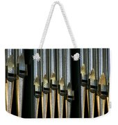 Silver Pipes Weekender Tote Bag