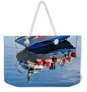 Silver Spirit Reflections Weekender Tote Bag