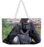 Silverback Western Lowland Gorilla Weekender Tote Bag