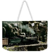 Silverton Steam Locomotive  Weekender Tote Bag