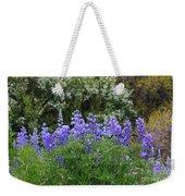 Silvery Lupine Black Canyon Colorado Weekender Tote Bag