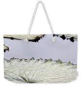 Silvery Sage Green Lily Pads Weekender Tote Bag