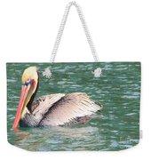 Silvery Softness Weekender Tote Bag