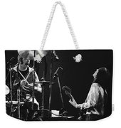 Simon And Mick Of Bad Company In 1977 Weekender Tote Bag