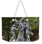 Simon Helps Jesus Weekender Tote Bag