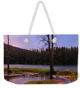 Simple Beauty Of Yellowstone Weekender Tote Bag by John Malone