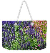 Simple Beauty - Purple And Pink Weekender Tote Bag