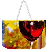 Wine - Simple Life Weekender Tote Bag
