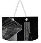 Simple Lines Weekender Tote Bag