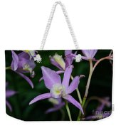 Simple Purple Weekender Tote Bag