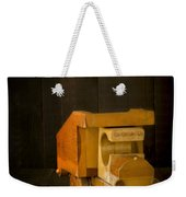 Simpler Times - Old Wooden Toy Truck Weekender Tote Bag