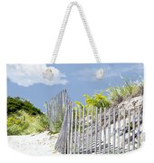 Simplified View Of Coastal Dune Weekender Tote Bag