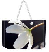 Simply Alone Flower Weekender Tote Bag