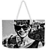 Simply Audrey Weekender Tote Bag