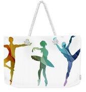 Simply Dancing 3 Weekender Tote Bag