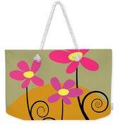 Simply Flowers Weekender Tote Bag