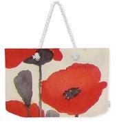 Simply Poppies 1 Weekender Tote Bag