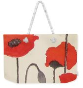 Simply Poppies 2. Weekender Tote Bag
