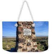 Simpson Springs Pony Express Station Monument - Utah Weekender Tote Bag