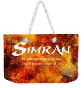 Simran Weekender Tote Bag