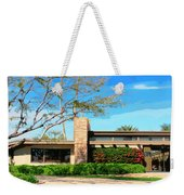 Sinatra Home Palm Springs Weekender Tote Bag by William Dey