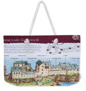 Sinclair Castle Scotland - 8 Weekender Tote Bag