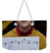Sing Sing Weekender Tote Bag