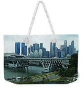 Singapore 14 Weekender Tote Bag