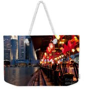 Singapore Boat Quay 03 Weekender Tote Bag