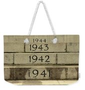 Singapore Cenotaph Monument Yearly Steps For World War Two Weekender Tote Bag