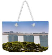 Singapore Marina Bay Sands And Skypark Weekender Tote Bag