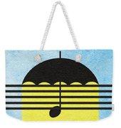 Singin' In The Rain Weekender Tote Bag