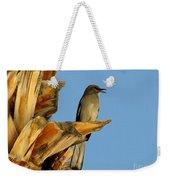 Singing Mockingbird Weekender Tote Bag