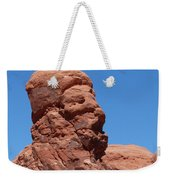 Singing Rock At Arches Np Weekender Tote Bag