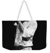 Singing With His Heart And Soul Weekender Tote Bag