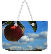 Single Apple Weekender Tote Bag