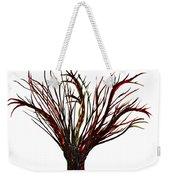 Single Bare Tree Isolated Weekender Tote Bag
