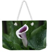 Single Calla Weekender Tote Bag