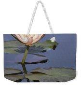 Single Coral Lily Weekender Tote Bag