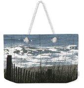 Single Dune Fence Weekender Tote Bag